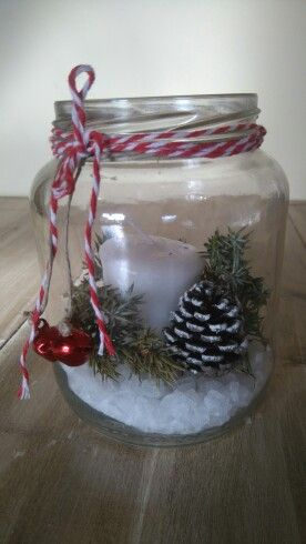 Vela decorada Navidad