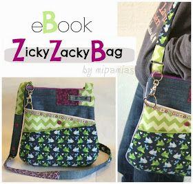 mipamias: ZickyZackyBag – mein Taschen-eBook ist fertig!