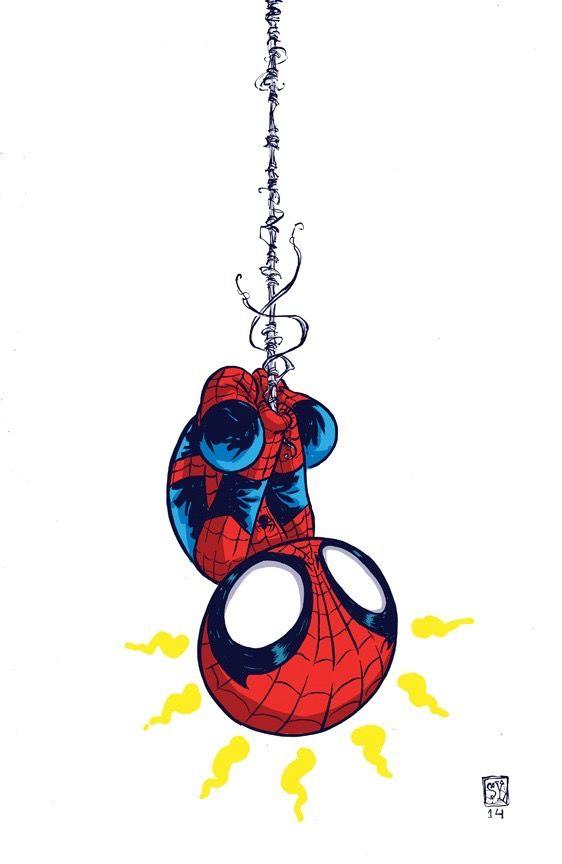 Spider-Man by Skottie Young