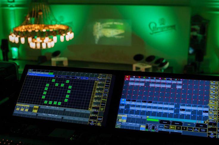 Ozvučení a nasvícení vánočního večírku