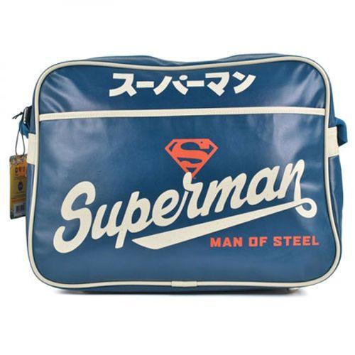 SUPERMAN BANDOLERA RETRO LOGO JAPONES