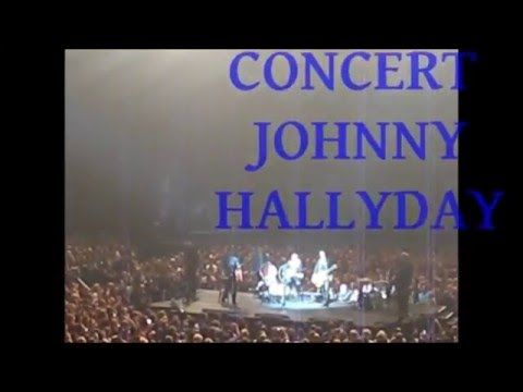 "CONCERT JOHNNY HALLYDAY - Tournée ""RESTER VIVANT"" - 2015/2016 - by Jmd"