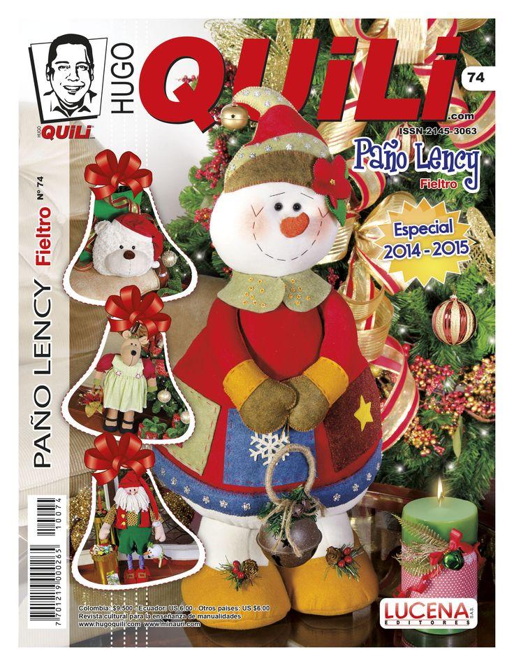 Revista Hugo Quili Paño Lency No. 74