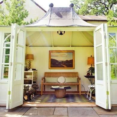 Best 25 prefab sheds ideas on pinterest how to build for Prefab backyard homes