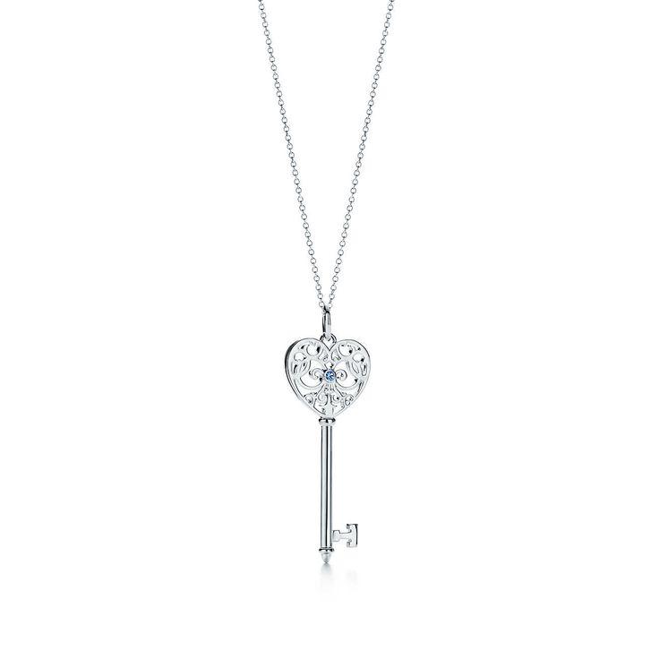 Tiffany Keys:Enchant Heart Key<br>Pendant
