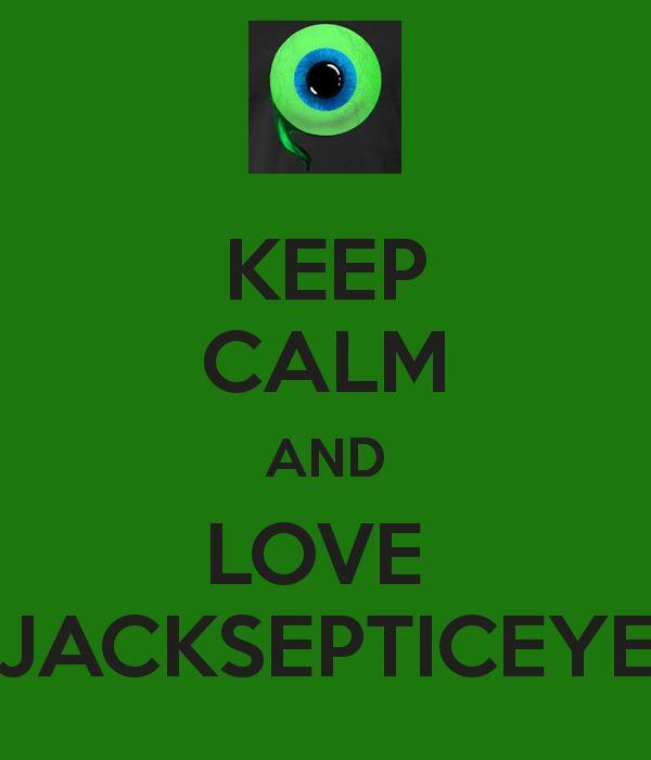 KEEP CALM AND LOVE JACKSEPTICEYE - KEEP CALM AND CARRY ON Image ...