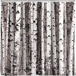 woods shower curtain - Google Search