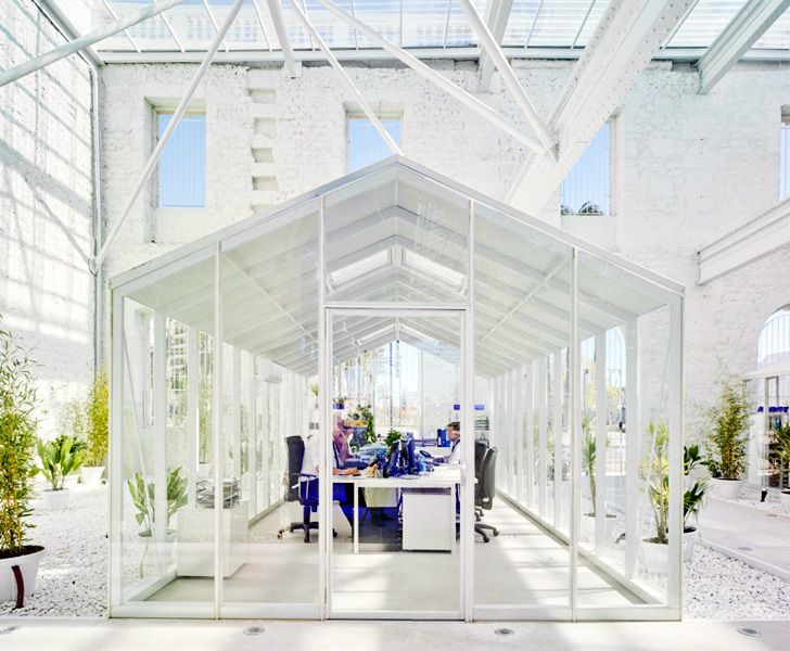 Spanish Train Station Transformed Into Gorgeous Daylit Office for Casa Mediterraneo | Inhabitat - Sustainable Design Innovation, Eco Architecture, Green Building