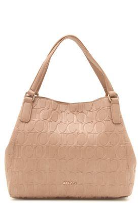 b68167506 Bolsa Hobo Colcci Monograma Rosa | Bolsas | Bags, Shoulder Bag e Shoulder