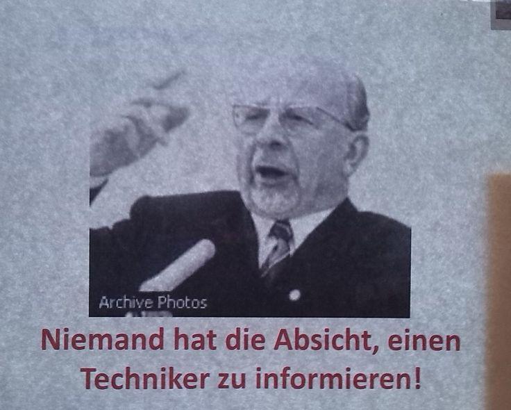 """""""Techniker ist informiert."""" Ein Zettel produzierte an der Uni Mainz immer neue Zettel. Eine kurze Meme-Geschichte."""