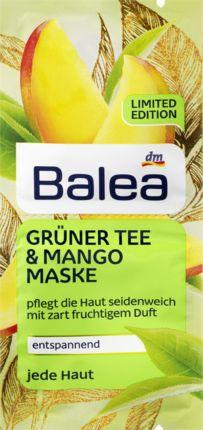 Mehr Ausstrahlung: Die Balea Grüner Tee & Mango Maske sorgt für ein wohltuendes Pflegevergnügen. Die Formulierung mit natürlichem Mandelöl und Extrakte...