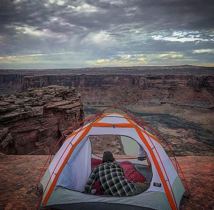 """47 Likes, 2 Comments - Moab Adventure Center (@moabadventurecenter) on Instagram: """"Would you wanna camp here?! Awesome camping available in the Moab area. Thanks @matthewdrewelow for…"""""""