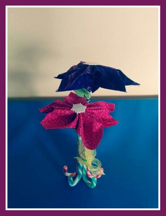 Flor navidad patchwork