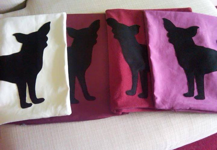 Chihuahua girl team #ItsTimeToDream #pet #pillowcover