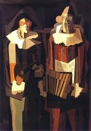 Emilio Petorutti, Caminantes 1935. Óleo sobre tela