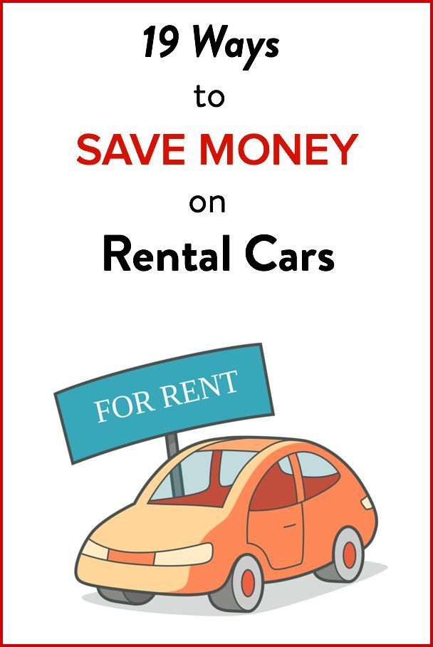 Beep beep - 19 ways to save money on rental cars. Plus our fave website for booking deals.
