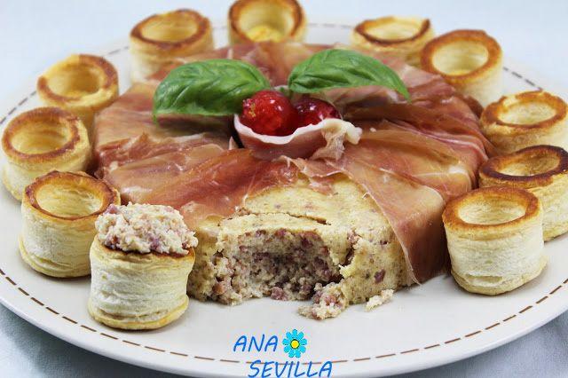 Pastel de jamón serrano Ana Sevilla con Thermomix