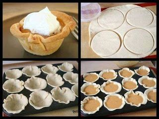 Mini Pumkin Pies ~ cooking Of all time