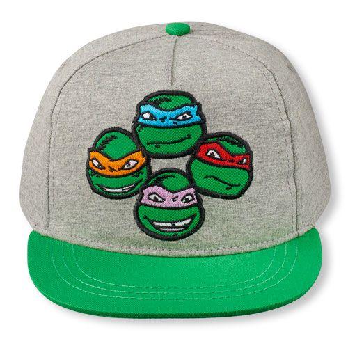 ninja turtle baseball hat teenage mutant turtles boys face cap gray shirt caps