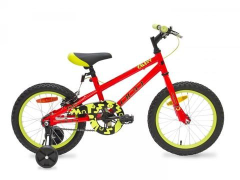 "DCO Galaxy 16"" Kids Bike The DCO Galaxy is great entry level bike for the beginner or the experienced rider. In many colours and sizes Check out our bikes here: https://shopspokesandsports.com/collections/bikes/products/galaxy-16-kids-bike"