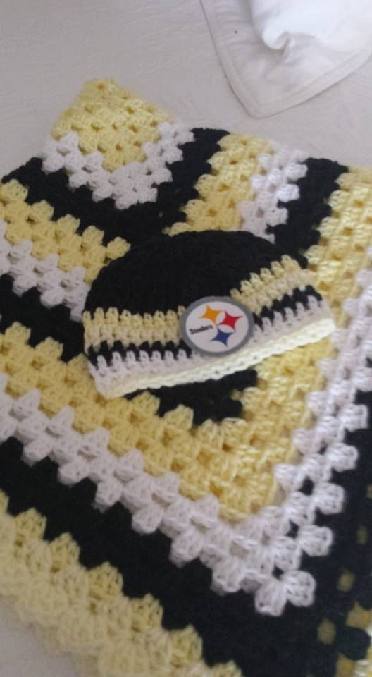1000+ ideas about Steelers Blanket on Pinterest Loom ...