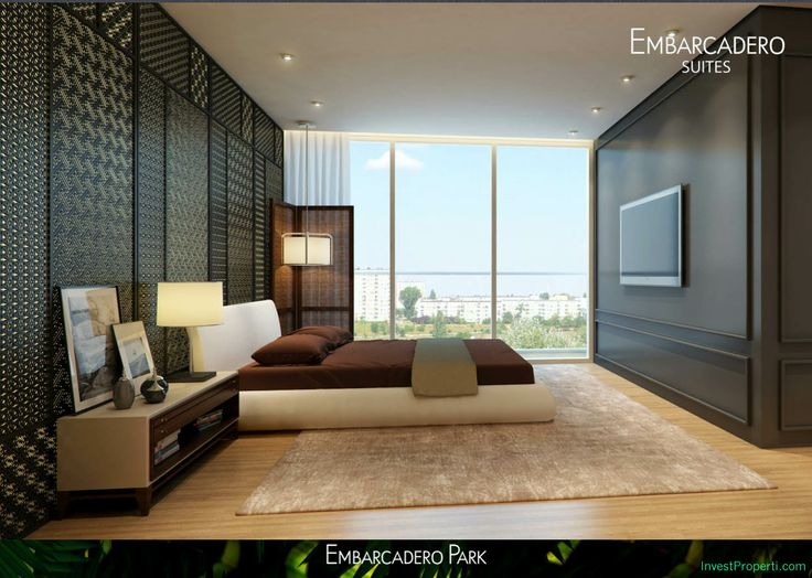 Embarcadero Suites Apartment Interior Design Example.