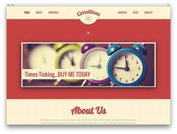 consilium fullscreen vintage theme