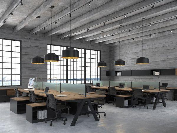 Office Interior Design App Small Office Interior Design Photo Gallery Real Estate Office In 2020 Office Interior Design Industrial Office Design Office Space Design