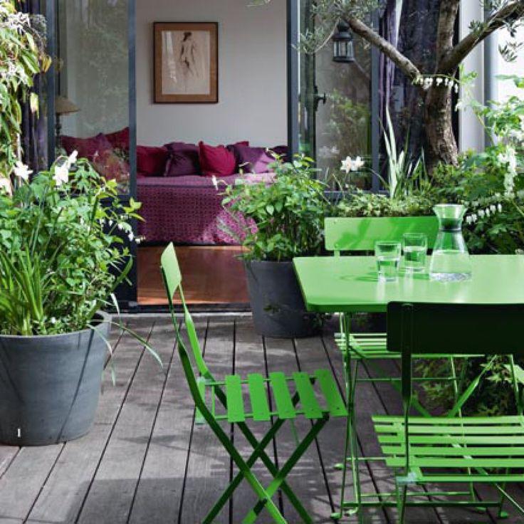 7 petits jardins de ville qui ont du style