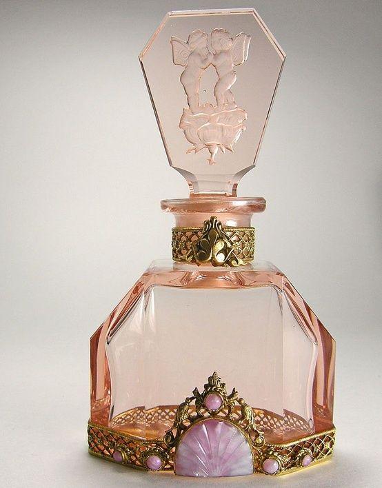 Frascos de perfume hermosas veces Deco