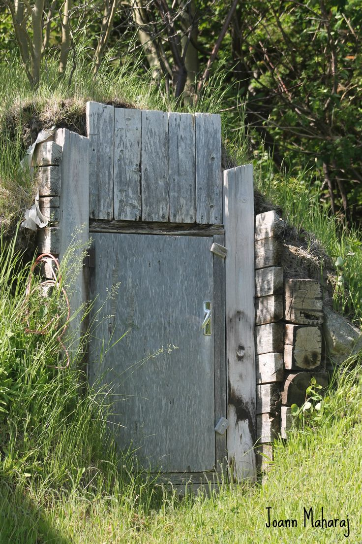 old family root cellar