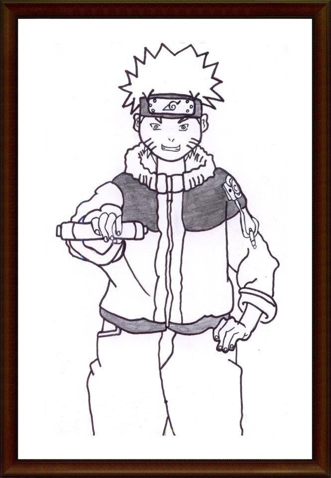 "Naruto ""SMP, kelas 9"""