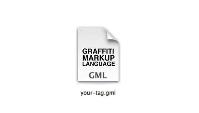 GML = Graffiti Markup Language by Evan Roth. Vote for Graffiti Analysis & GML in the Transmediale & Mozilla Open Web Award!!!