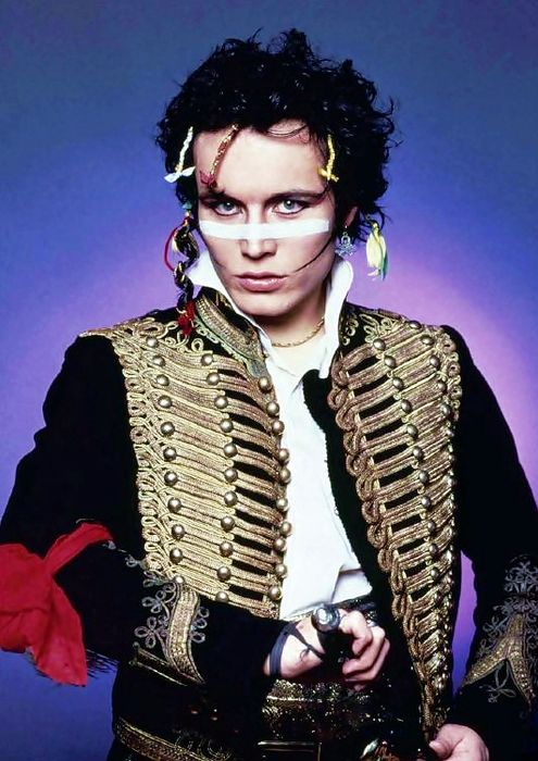 Adam Ant, leader of the post-punk group Adam and the Ants turns 60 today - he was born 11-3 in 1954. He's also worked as an actor in film and on TV.