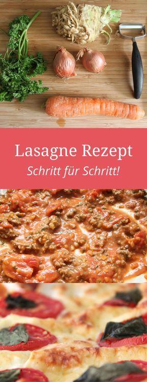 Mein Zwei in Eins Rezept: Das Lasagne Rezept klassisch und das Bolognese Rezept aus frischen Zutaten. http://www.meinesvenja.de/2011/08/05/lasagne-oder-bolognese/