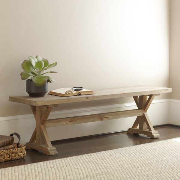 Torrance Dining Table Bench for foot of bed