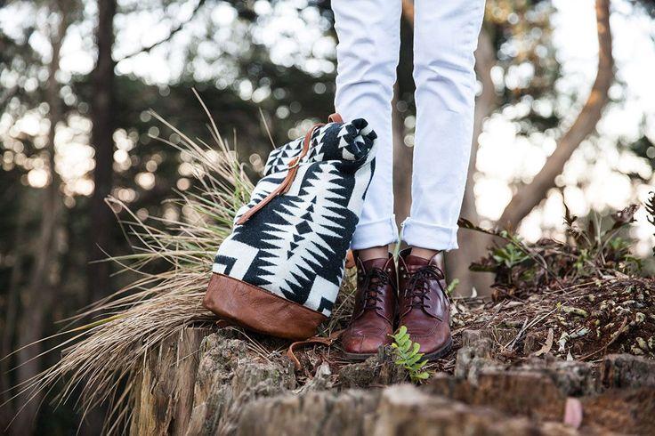 Walking Rock Rolltop Backpack