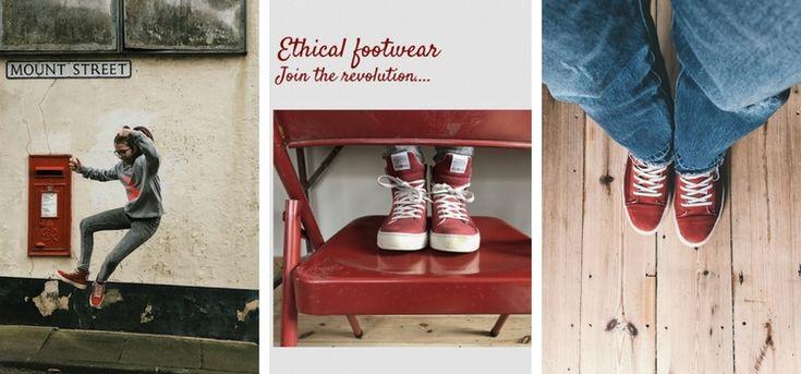 Ethical Footwear from @pozufootwear Rebellions work!  #fashrev #bettershoes