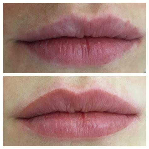 """2,121 Likes, 378 Comments - LuMakeUp (@lumakeupbr) on Instagram: """"Lábios bonitos são Lábios naturais!!! Ela tinha algumas imperfeições no contorno, que em forma de…"""""""