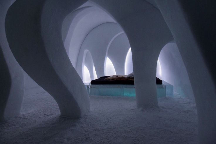 Ice Hotel in Jukkasjärvi-Sweden. Photo: T. Paulzon