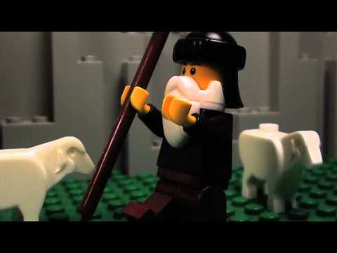 The Nativity Story (in LEGO)--this is sooo cute! love the lil kids telling the story!! awesome!