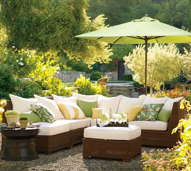 mallin-patio-furniture-white-mallin-outdoor-furniture-replacement-cushions-on-brown-wicker-and-green-umbrella