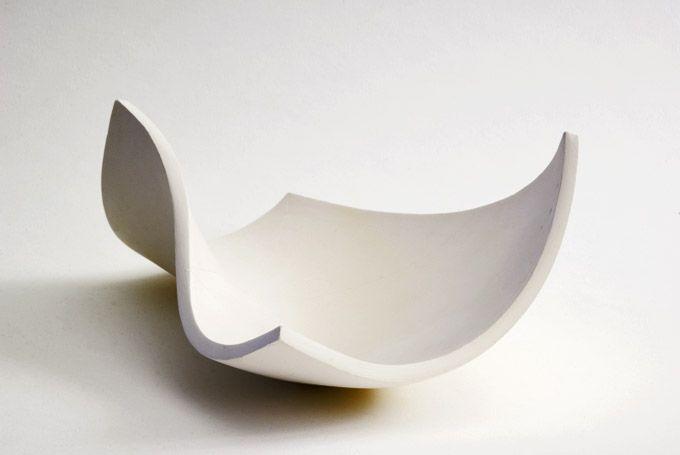 Richard Sweeney // Surfaces. 2010. White earthenware (unglazed).