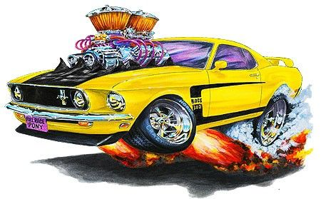 Mustang cartoons recherche google car toons art cars mustang et car drawings - Coloriage cars toon ...