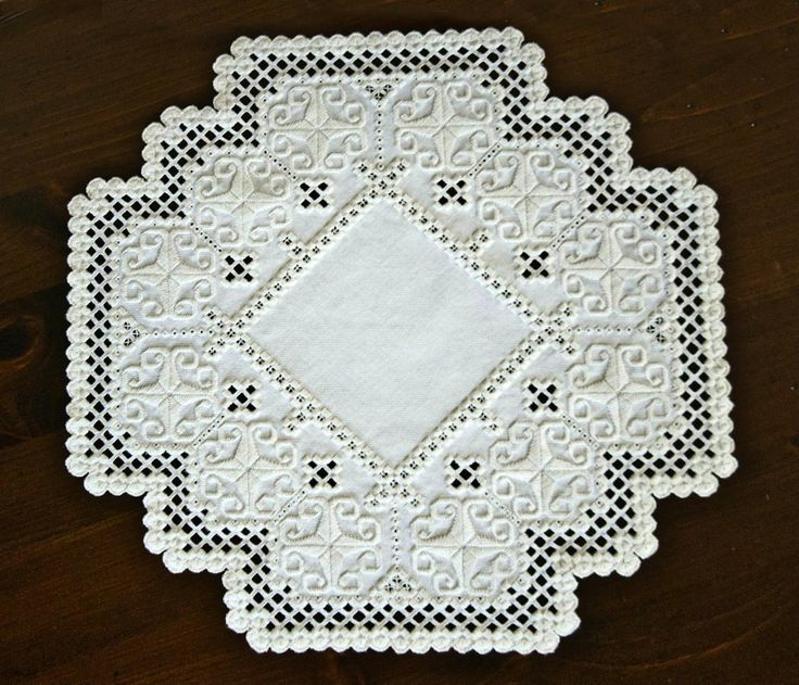 hardanger | Butterfly Jungle: Mother Knows Best: Hardanger Embroidery