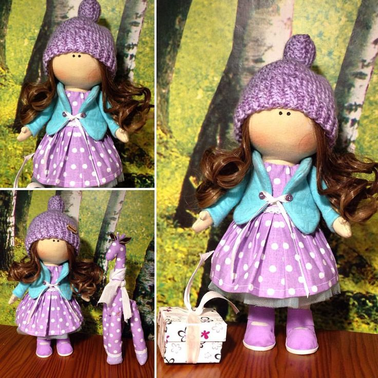 $120 Hand made Soft doll, Decor doll, Home, Art, Gift, for girl, baby, decoration, unique magic doll by Master GagaDolls
