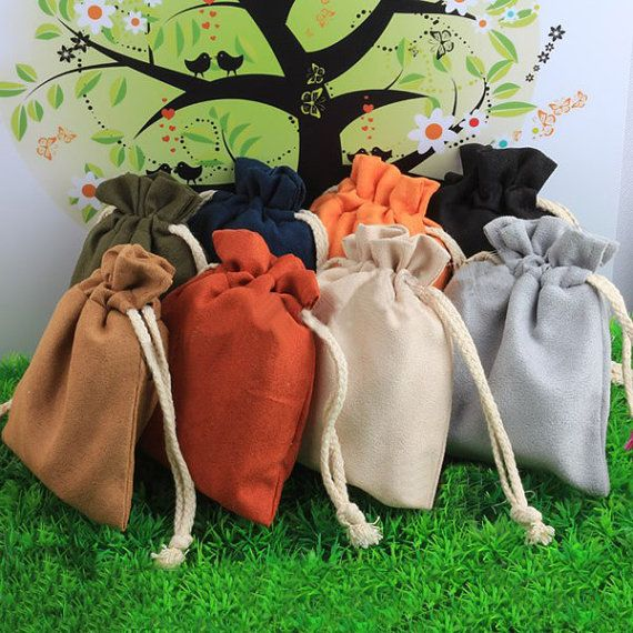 30pcs Velveteen Drawstring by GoodChoiceSupplies on Etsy