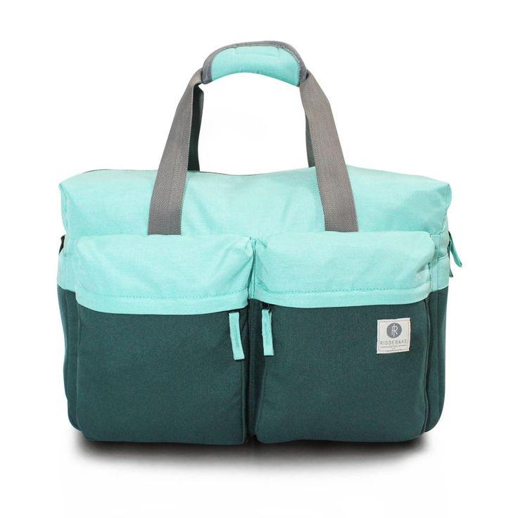 Ridgebake Weekender Bag - Mint & Green