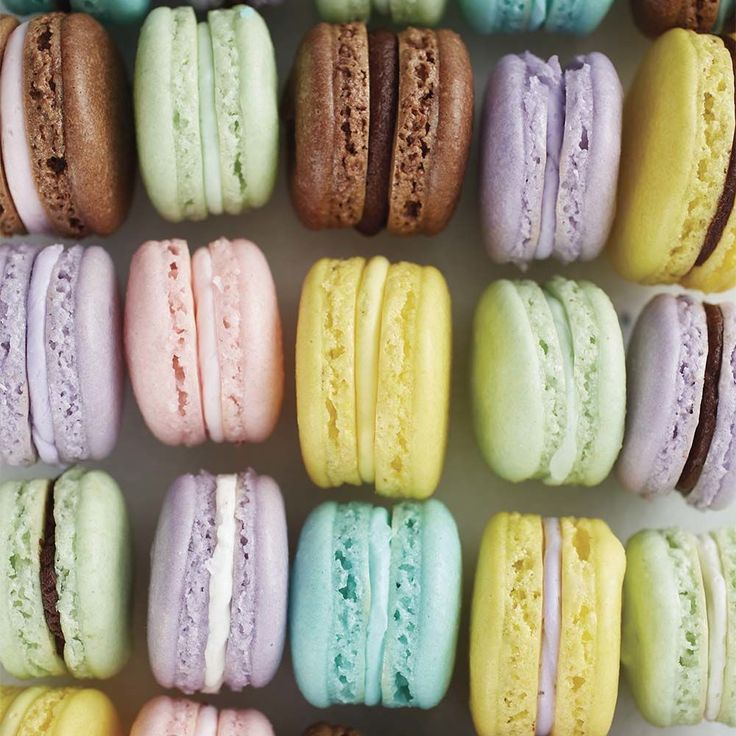 Impress friends and family by making your own batch of French Macarons.  Great for wedding and party favors or for giving as gifts, French macarons are delicate and delicious.  Mix and match colors and flavors to create treats to best suit the occasion.