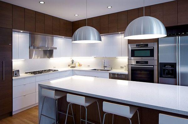 die k che neu gestalten 41 auffallende k chen design ideen k che anh nger beleuchtung. Black Bedroom Furniture Sets. Home Design Ideas